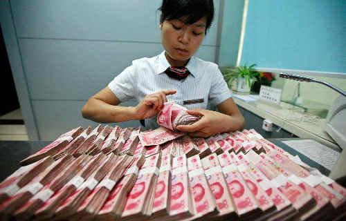 Chińskie tamowanie odpływu rezerw
