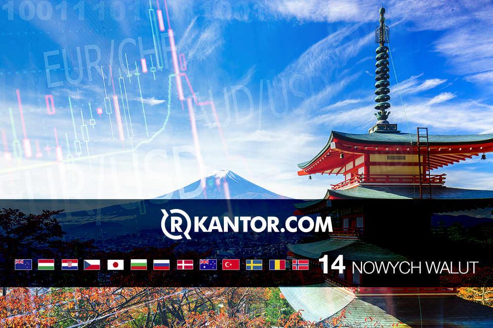 Rkantor.com 14 nowych walut