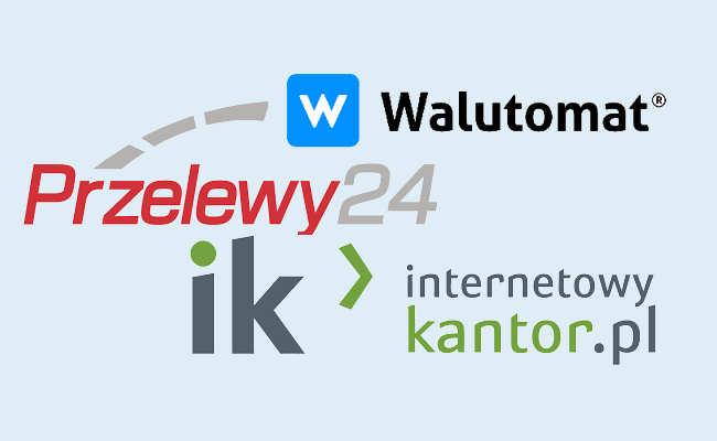 Internetowy Kantor, Walutomat Przelewy 24