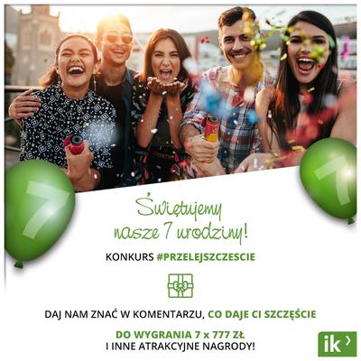 Internetowykantor.pl - siódme urodziny