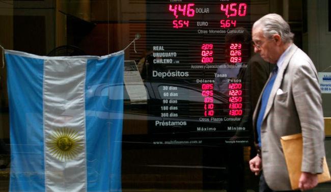 Cinkciarze wracają do Argentyny.