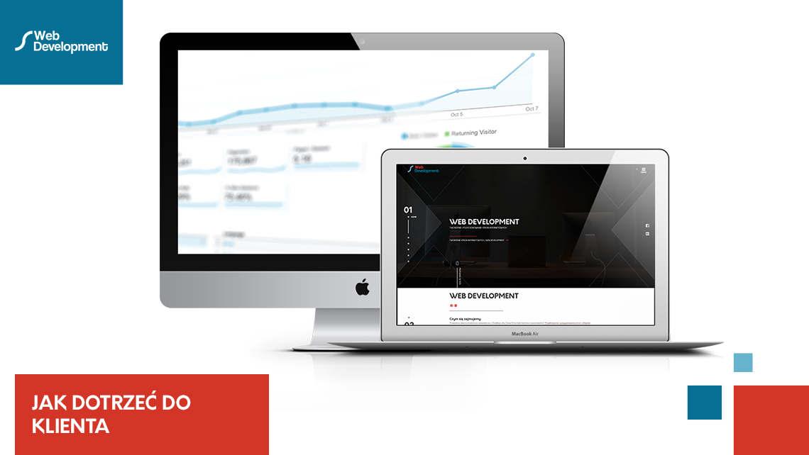 Jak za pomocą strony internetowej dotrzeć do klienta?