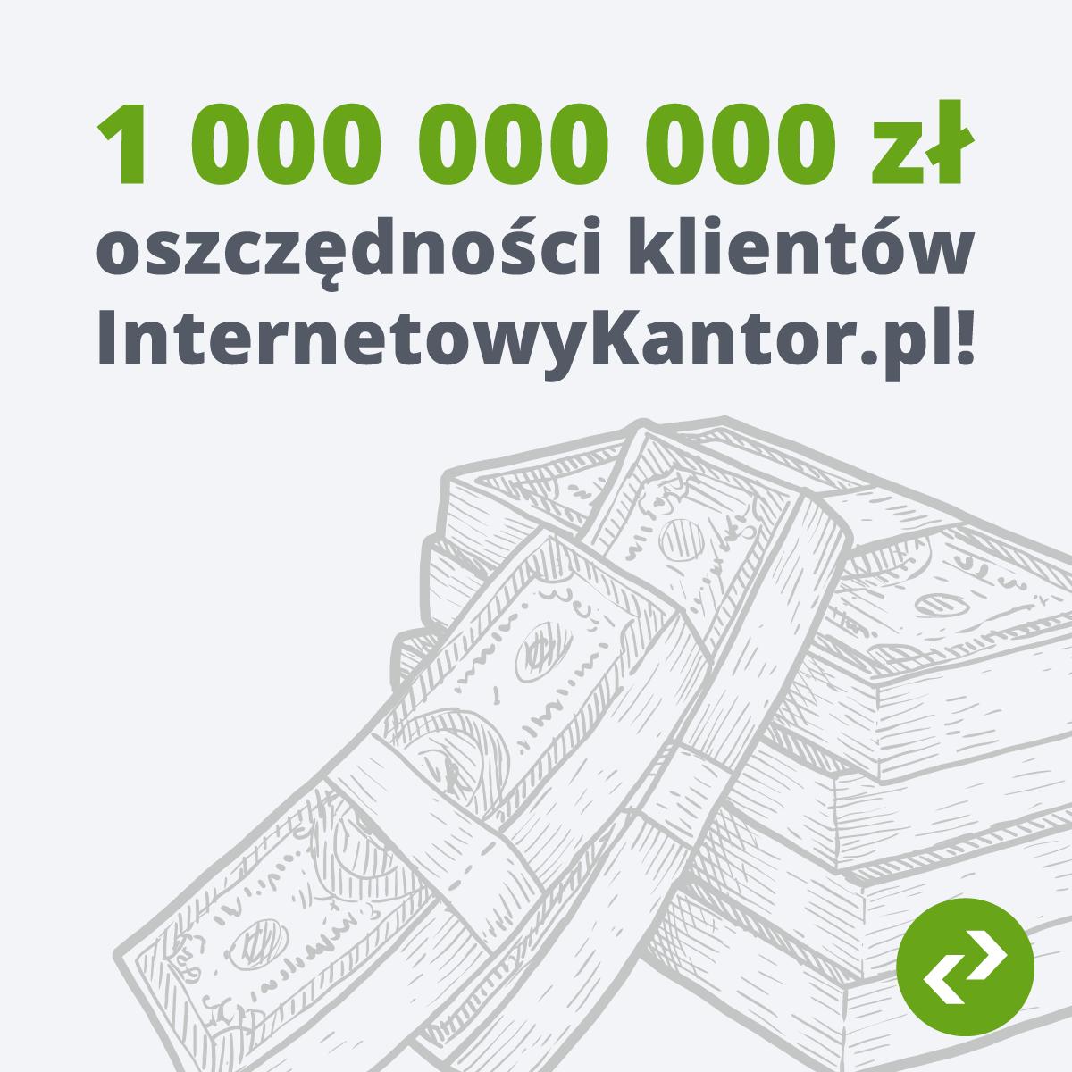 1 miliard oszczędności
